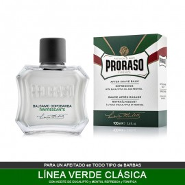 Balsamo After Shave Eucalipto y Mentol Sin Alcohol 100ml de Proraso