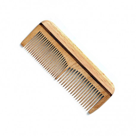 Beech Wood Comb for Beard and Mustache