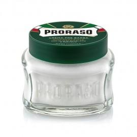 Crema PRE-AFEITADO PRORASO Eucalipto-Mentol 100 ml