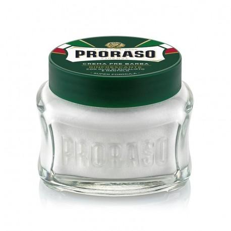 PRORASO PRE-SHAVING Cream Eucalyptus-Menthol 100 ml