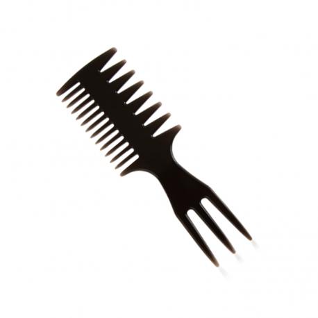 Mini Peine Classic Tri-Comb D3 para Barba y Bigote