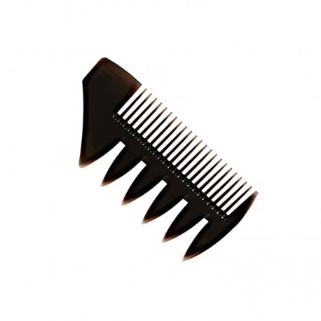 Mini Peine Classic Tri-Comb D3 sin mango para Barba y Bigote