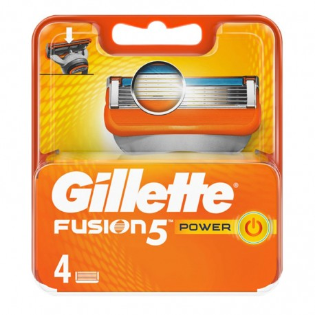 Recambio Maquinilla Multi Hoja Fusión 5 de Gillette Power