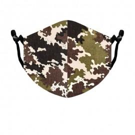 Beard Mask Standard size Camouflage color
