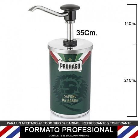 Dispensador Crema Afeitar PRORASO profesional 1,5Kg