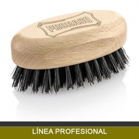 PRORASO beard and mustache brush