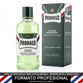 After Shave locion de Proraso PROFESIONAL 400ml,