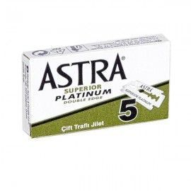 ASTRA Superior Platinum Double Edge 5 Blade Shaver Box