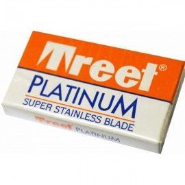 Cajita Cuchillas de afeitar Treet Platinum 10 Hojas de Afeitado