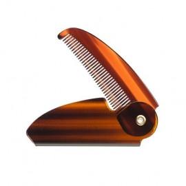 Peine plegable de Concha para barba y bigote BARBER LINE