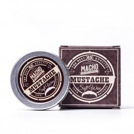 MACHO Cera suave para bigote,