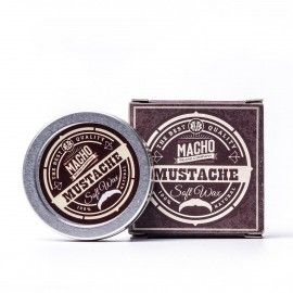 MACHO Beard Company Soft moustache wax
