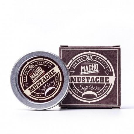 MACHO Cera suave para bigote