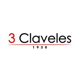 3 CLAVELES Professional